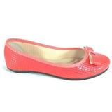 Sapatilha Confort Fem Color Shoes Laranja Frete Grátis