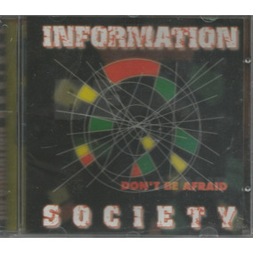 Cd - Information Society - Don´t Be Afraid - Lacrado
