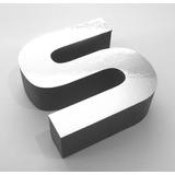 Letra Caixa Para Fachadas Em Acm 3mm Profundidade