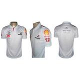 Camisa Maclaren Polo Team Formula 1 Equipe Mclaren Honda