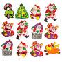 A2s Personajes De Navidad - Imán Decorativo D + Envio Gratis