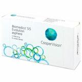 Lentes De Contacto Biomedics 55 Evolution Asphere 6 Unidades