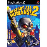 Jogo Patch Destroy All Humans 2 Play2 Ps 2 Playstation 2 Ps2
