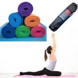 21285e96a0836 Colchonete Esteira Tapete Yoga Mat De Pvc + 1 Bolsa