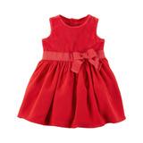 Vestido Vermelho Com Calcinha - Veste 24 Meses - Carter