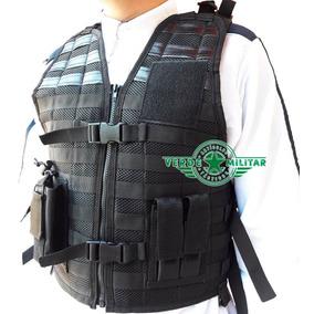 Chaleco Tactico Policia Seguridad Privada Incluye Accesorios