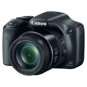Câmera Digital Canon Sx520hs 16mp, Zoom Óptico De 42x E Fi
