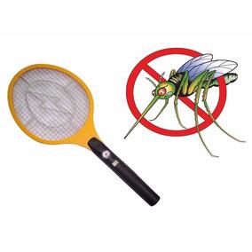 Raquete Mata Pernilongo Muriçoca Inseto Mosquito Recarrega