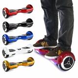 Skate Electrico Patineta Hoverboard Bluetooth + Luz + Bolso