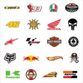 Adesivos Personalizados Motos E Capacetes + Frete Grátis