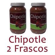 2 Frascos Chile Chipotle En Polvo 270g Deshidratado