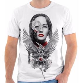 Camiseta Blusa Personalizada Filmes Jogos Vorazes Katniss