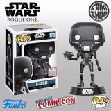Funko Pop K-2so Star Wars Nycc Comic Con Fall Convention