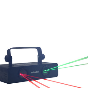Laser Doble Rojo 100mw + Verde 50mw Micro Rayo Dmx