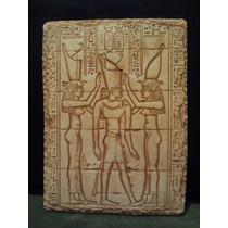 Cuadro. Relieve Egipcio. Yeso