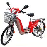 Bicicleta Elétrica Sousa Com Alarme E Upgrade De Baterias