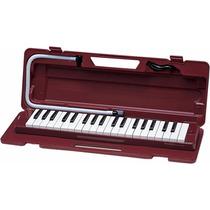 Pianica Flauta Melódica Yamaha P37d Bordo Brown Nueva