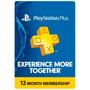 Playstation Plus 12 Meses Estados Unidos Ps3 / Ps4 / Psvita