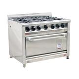 Cocina Industrial Morelli 1100 Basic Chef 6 Hornallas