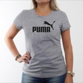 Camiseta Algodão Puma Baby Look Mescla Laife Pp Ao G5