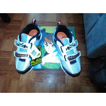 Tenis Ben 10 Alien Force Blanco Talla 12 Usa / 17cm Trabucle