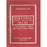Resumenes Leru Historia Moderna Y Contemporanea 2° Año