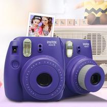 Fujifilm Instax Mini 8 Camara Instantanea Morada Nueva