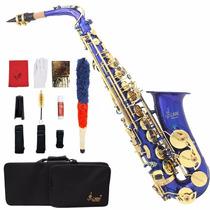 Saxofon Alto Marca Lade Con Accesorios