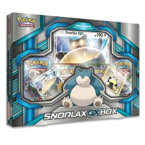 Pokemon Tcg: Snorlax Box 10990 4 Pacotes Com 10 Cartas Cada
