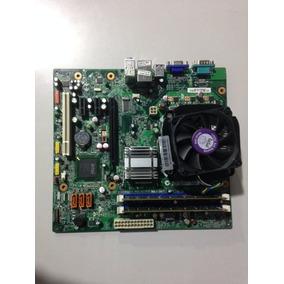 Placa Mãe Lenovo L-ig41m2+processador+cooler+memória