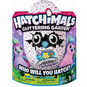 Huevo Hatchimals Glittering Sorpresa C/2 Huevos Mini Gratis!