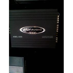 Planta Zaga Audio Hml 306 2600 Watts 4 Canales
