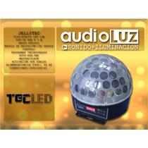 Efecto Led Jellytec American Pro Esfera Bola Multi Rayos