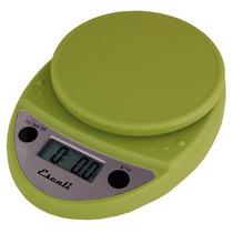 Báscula Alimentos Escali Primo Capacidad 5kg Color Verde