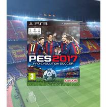Pes 2017 Ps3 Digital Psn - Game Completo Playstation 3