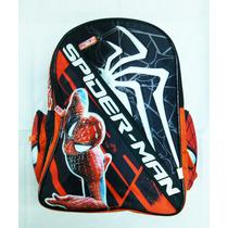 Mochila Escolar Spiderman Hombre Araña Grande Marca Original