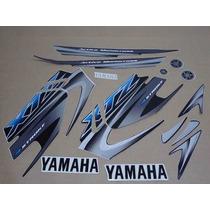 Kit Adesivos Yamaha Xtz 125 2006 Preta