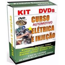 Curso Elétrica Automotiva E Injeção Eletrônica Em 4 Dvds