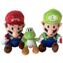 Pelucia Super Mario Ou Luigi 24cm Ou Yoshi 18cm Menor Preço