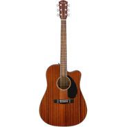 Guitarrra Electro Acustica Fender Cd-60sce All-mahogany