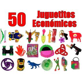 Juguetes Económicos Regalos Fiestas Piñatas 50 Piezas