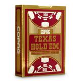 Baralho Copag 100% Plástico Texas Hold