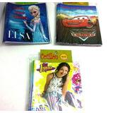 Librito Colorear Pintar Pers Marvel Disney Peppa Pack X10