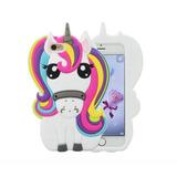 Capinha Capa Case Unicornio Iphone 4 5 6 6s 6 7 7 Plus 8 X