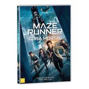 Maze Runner - A Cura Mortal - Dvd - Dylan O'brien - Novo
