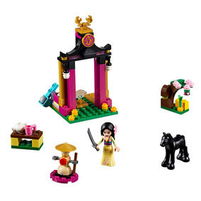 Lego Disney - Dia De Treinamento Da Mulan