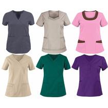 Camisas Para Uniformes Médicos, Enfermeras, Maestras Y Mas