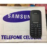 Celular Desbloqueado Samsung Gt-e1203 3 Chip Fm Mp3 Novo
