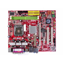 Placa Mãe Msi Ms-7255 Intel Lga775 Ddr2 Pen 4 Cel Core 2 Duo