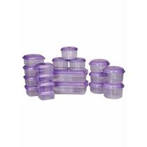 Tupperware Tapoer 18 Potes - Organize Sua Cozinha - Similar